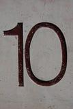 nummer Arkivfoto