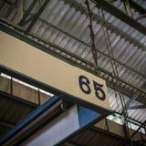 Nummer 65 Fotografering för Bildbyråer