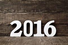 Nummer 2016, als nieuw jaar Stock Fotografie