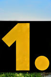 Nummer Eins… Lizenzfreie Stockbilder
