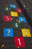 Nummer från 1 till 10 Arkivbild