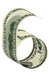 Nummer sex dollar Royaltyfri Bild