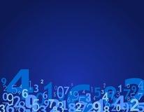 Nummeriert Hintergrund Lizenzfreie Stockfotografie