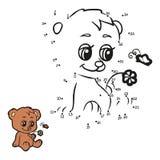 Nummerlek (björnen) Fotografering för Bildbyråer
