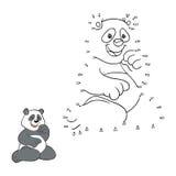 Nummerlek (pandan) Arkivbilder