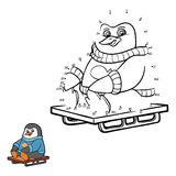 Nummerlek (pingvinet) Arkivfoton