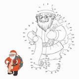 Nummerlek (Santa Claus) Royaltyfri Foto