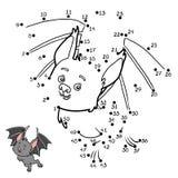 Nummerlek, slagträ stock illustrationer