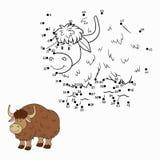 Nummerlek (yak) Arkivbilder