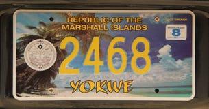 Nummerplaat Royalty-vrije Stock Afbeelding