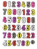 nummerplast- Arkivfoton