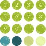 Nummervektorkonst Arkivbild