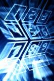 Numpad del Cyber imagen de archivo libre de regalías
