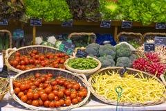 numrerar grönsaken Royaltyfri Foto