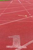 Numret som används för idrottsman nen Royaltyfria Bilder