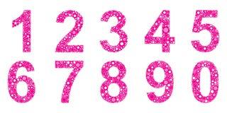 Numéros Images stock