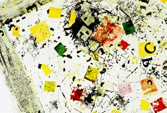 Numérote des &letters Photographie stock libre de droits