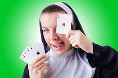 Nun Royalty Free Stock Photography