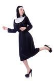 Nun isolated Stock Photo