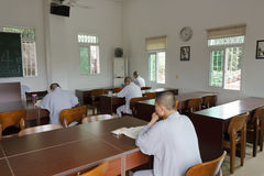 Nun postgraduate selfstudy in amoy city, china Royalty Free Stock Photography