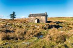 Nun's Cross on Dartmoor Stock Photography