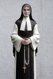 Nun Statue Royalty Free Stock Photos