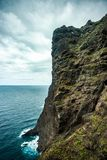 Nun viewpoint in punta de Teno Tenerife stock images