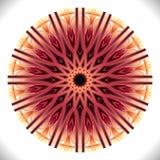 Nunarctonmedaillon: Geometrisch Vectorart octagonal design vector illustratie
