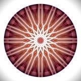 Nunarctonmedaillon: Geometrisch Vectorart octagonal design stock illustratie