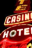 Nunca duerme la ciudad Las Vegas imágenes de archivo libres de regalías
