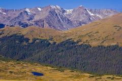 Nunca montañas del verano Imagen de archivo libre de regalías