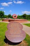 Nunca olvide el monumento, Alrewas Imagen de archivo libre de regalías