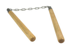 Nunchaku Royalty Free Stock Photography