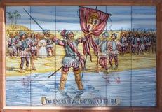 Nunez de Valboa conqueror Royalty Free Stock Image