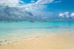 Nungwi Zanzibar royalty free stock images
