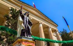 Nunna Statue för lagdomstol Arkivfoton