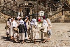 Nunnamöte Royaltyfri Bild