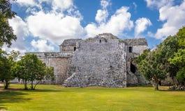 Nunnery building at Chichen Itza - Yucatan, Mexico Stock Photography