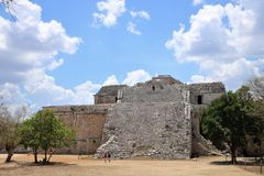 Nunnery , Chichen Itza. Nunnery & x28;Edificio de las Monjas& x29;, a part of the Maya Chichen Itza archaeological site in the Mexican state of Yucatan. It is a Royalty Free Stock Images