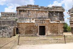 Nunnery , Chichen Itza. Nunnery & x28;Edificio de las Monjas& x29;, a part of the Maya Chichen Itza archaeological site in the Mexican state of Yucatan. It is a Royalty Free Stock Image