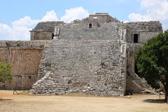 Nunnery , Chichen Itza. Nunnery & x28;Edificio de las Monjas& x29;, a part of the Maya Chichen Itza archaeological site in the Mexican state of Yucatan. It is a Stock Photo