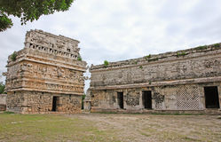 The Nunnery Group in Chichen Itza Stock Images