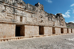 Nunnery Quadrangle Uxmal Stock Images