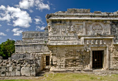 Nunnery ruins in Chichen Itza. Mexico Royalty Free Stock Images