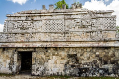 The Nunnery Temple Chichen Itza Mexico Royalty Free Stock Photo
