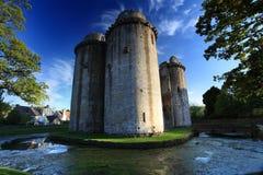 Nunney slott Somerset Royaltyfria Foton