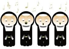 nunnor vektor illustrationer