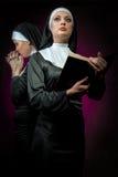 Nunnor Royaltyfri Fotografi
