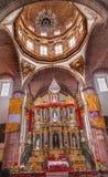 Nunnor San Miguel de Allende Mexico för obefläckad befruktning för kloster royaltyfri bild