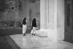 nunnor två Royaltyfri Foto